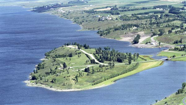 Jamestown reservoir