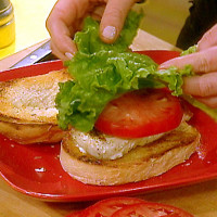 Halibut Sandwiches in Tartar Sauce