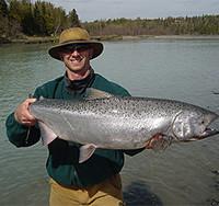 Salmon Fishing in Wyoming